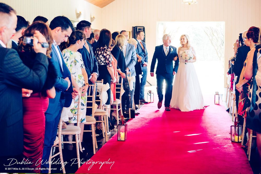 Clonabreany Bride and father