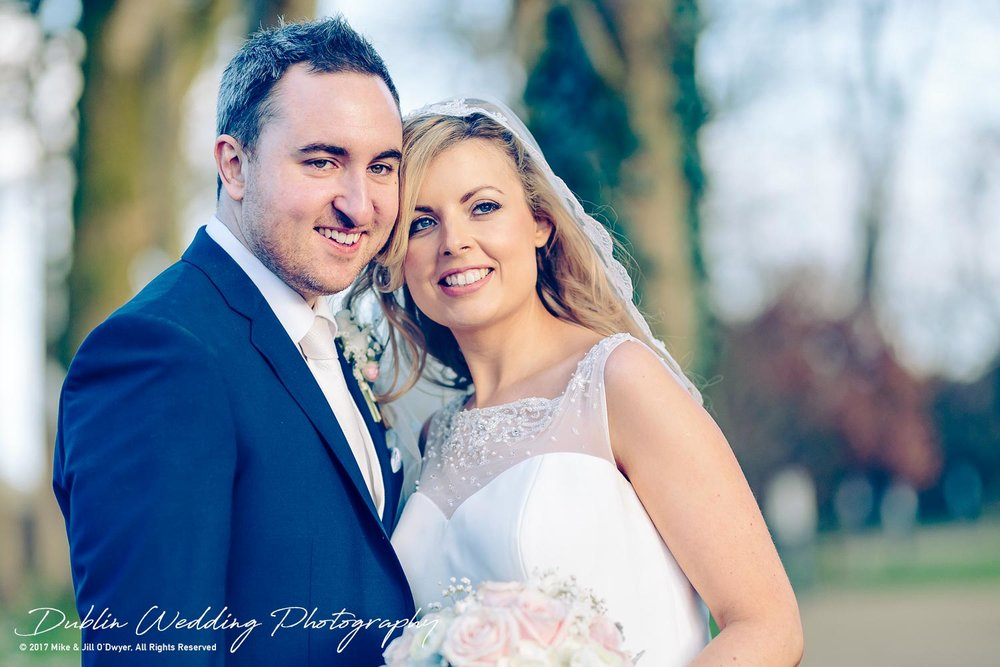 Clonabreany House Wedding Bride and Groom