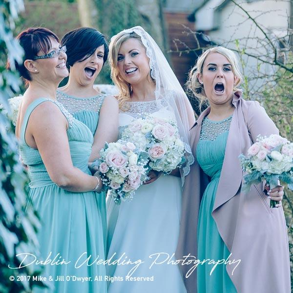 Clonabreany House Bridesmaids