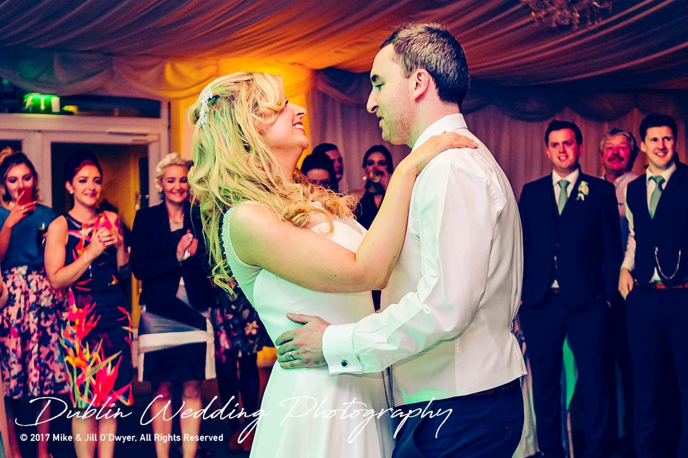 Clonabreany Wedding First dance Bride and Groom