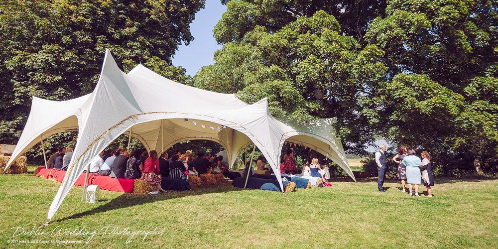 Alterative Wedding venue Rock farm Slane