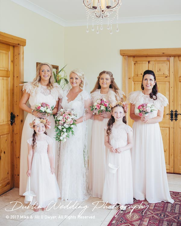Wedding Photographer Carlow All the Girls