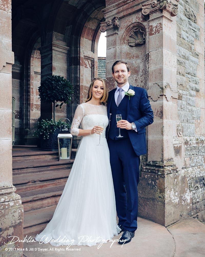Wedding Photographer Dublin Castle leslie Greetings