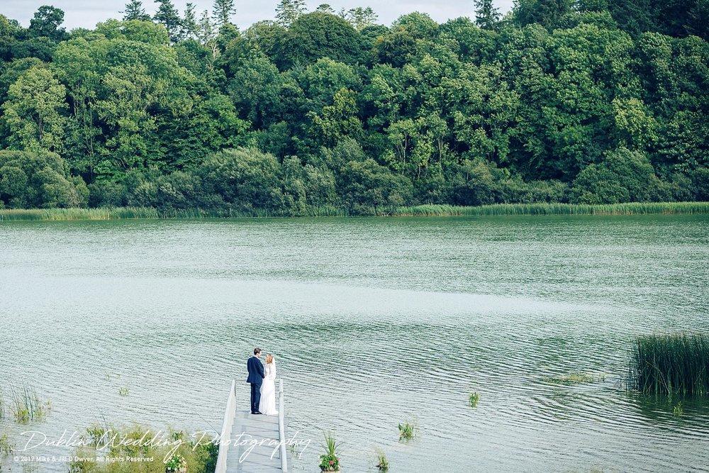 Wedding Photographer Dublin Monaghan Castle Leslie lake