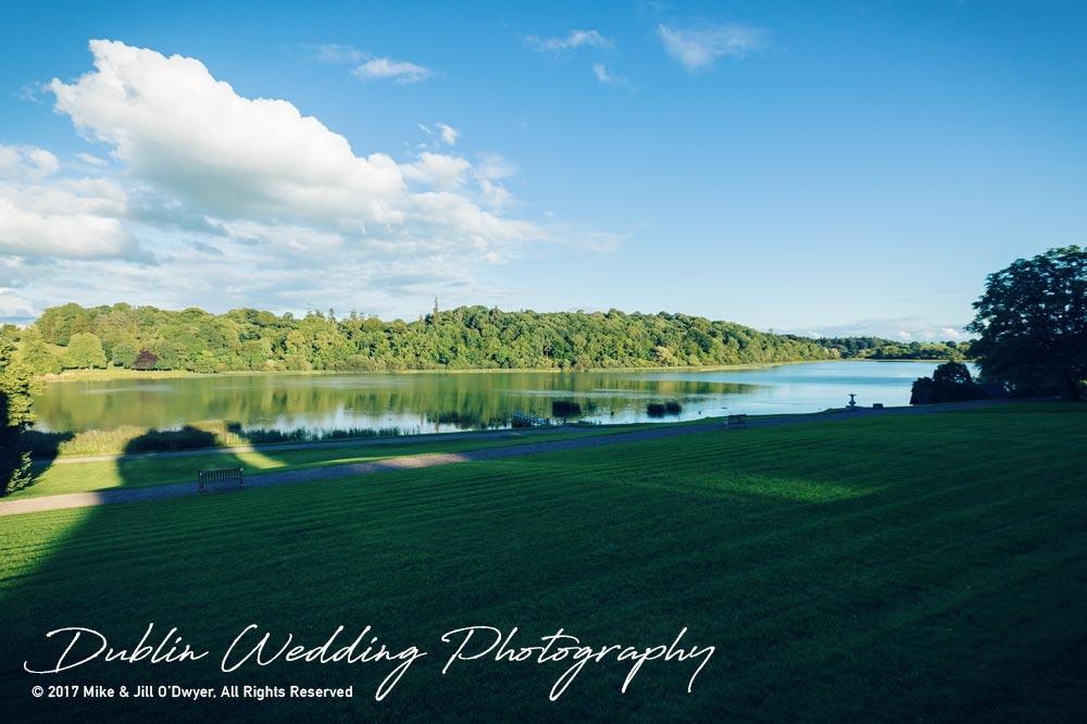 Dublin Wedding Photography Castle Leslie Lakes