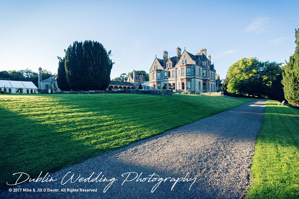 Dublin Wedding Photography Castle Leslie Lakeside Walk