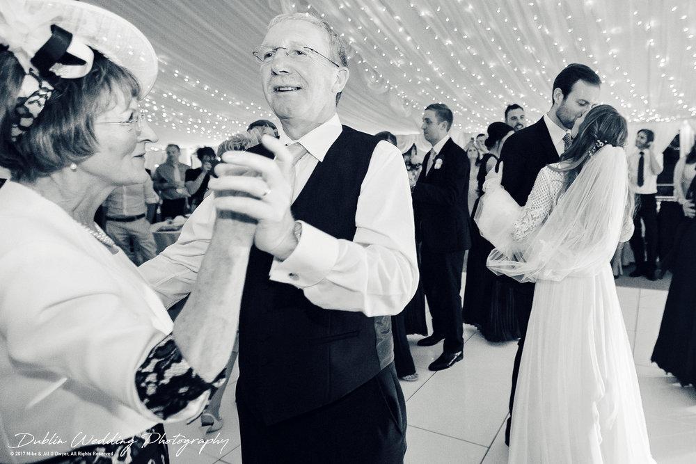 Dublin Wedding Photography Castle Leslie First Dance Kiss