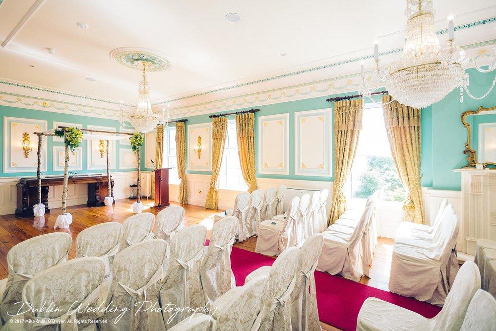 Wedding Photographers Killashee Hotel Ceremony Room