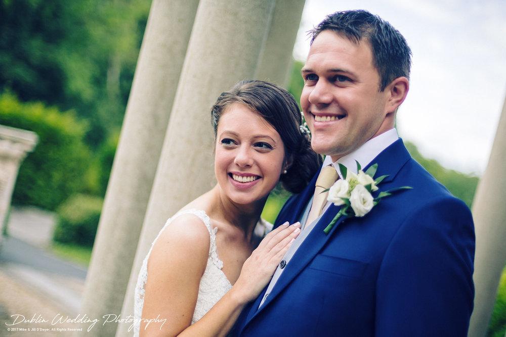 Wedding Photographer Killashee House Hotel Kildare Bride & Groom in Love