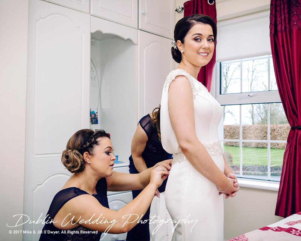 Castle Durrow Wedding Photographer County Laois Bridal Prep