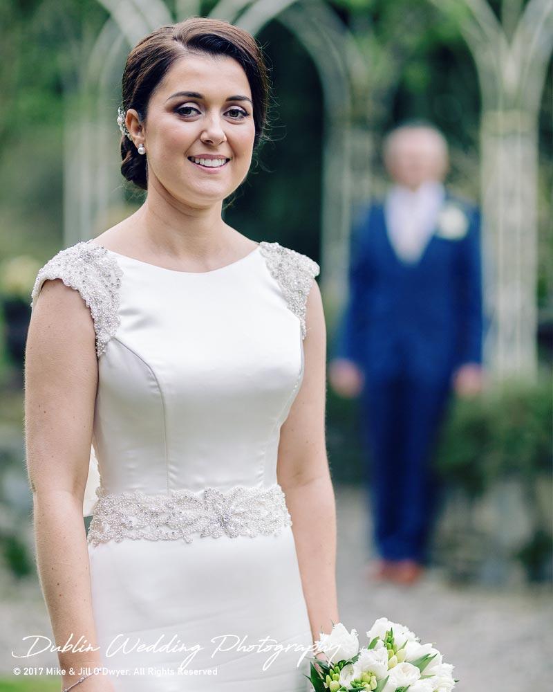 Castle Durrow Wedding Photographer County Laois Bride Portrait