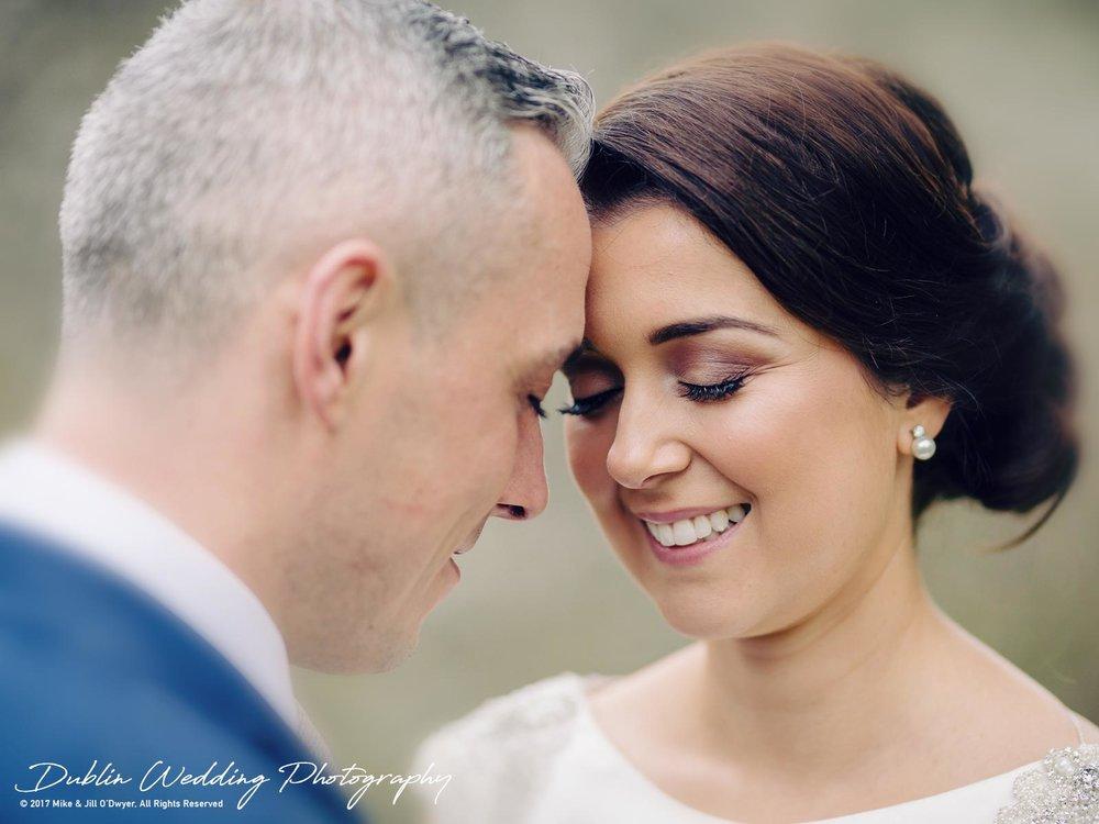 Castle Durrow Wedding Photographer County Laois Bride & Groom Together