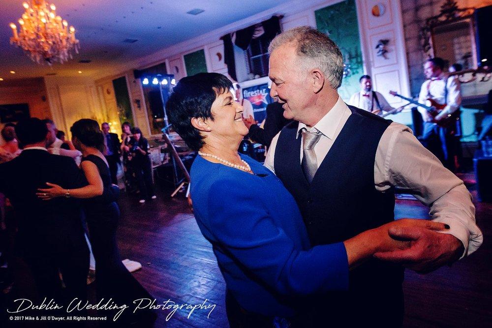 Castle Durrow Wedding Photographer County Laois dancers