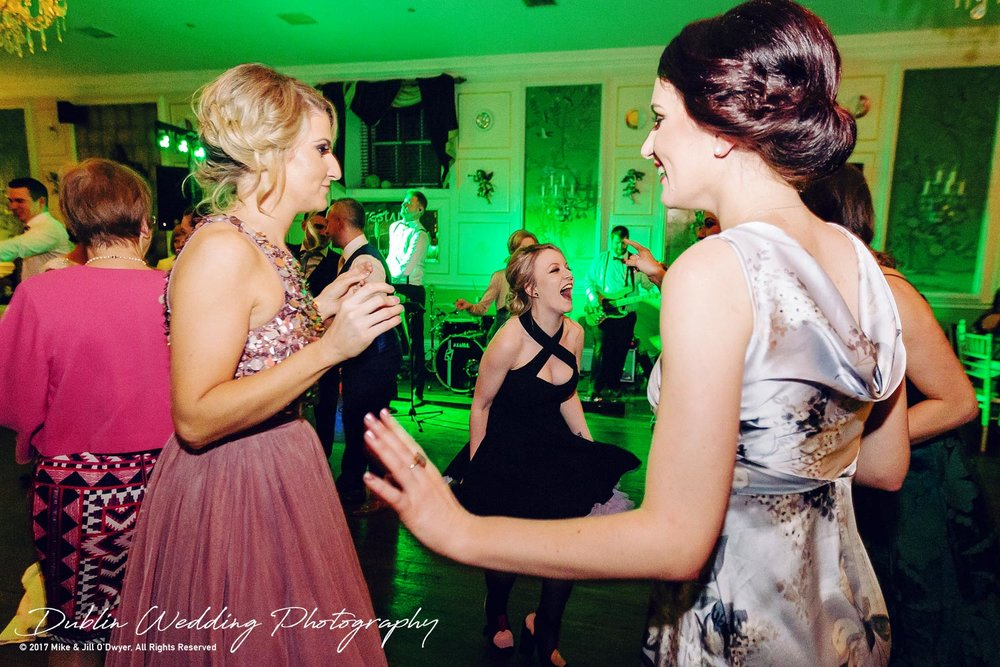Castle Durrow Wedding Photographer County Laois Music & Madness