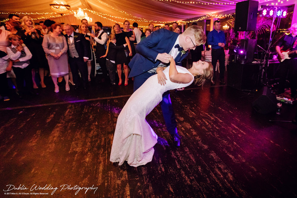 Tinakilly House Wedding Photographer: First Dance