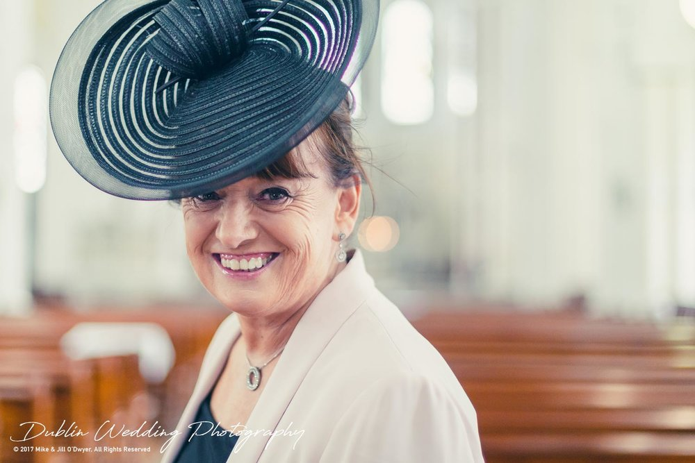 Moyvalley, Balyna House, Wedding Photographer, Kildare, Dublin, Guest and Hat