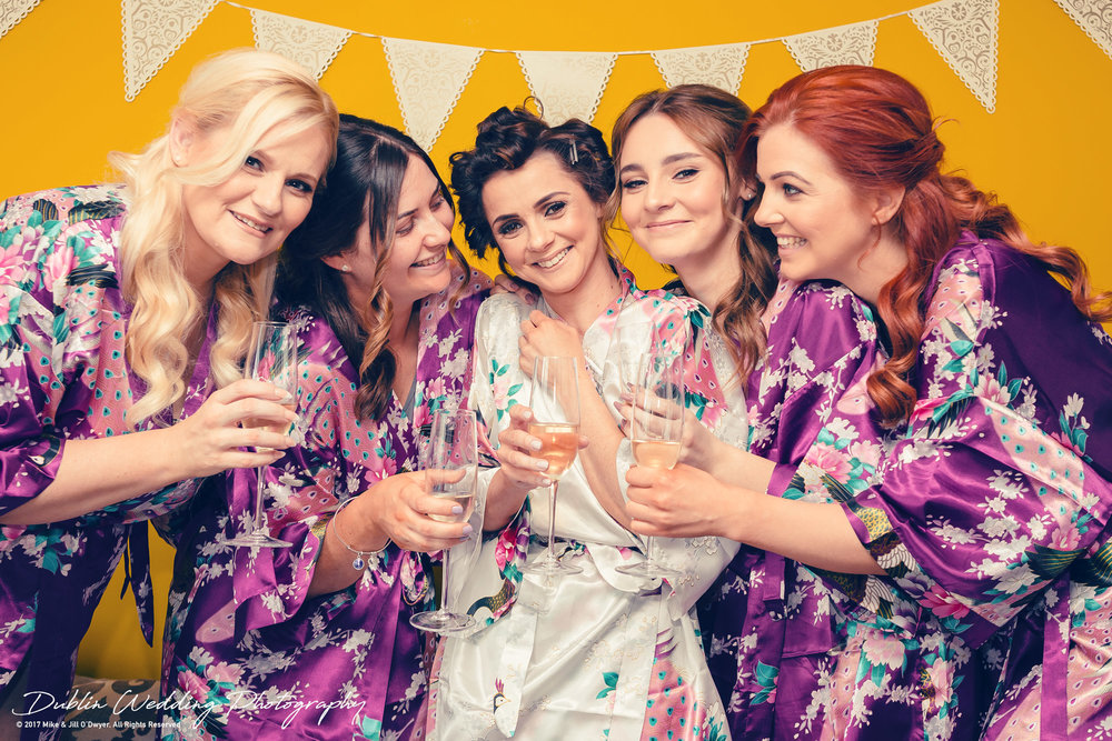 Moyvalley, Balyna House, Wedding Photographer, Kildare, Dublin, All The Ladies