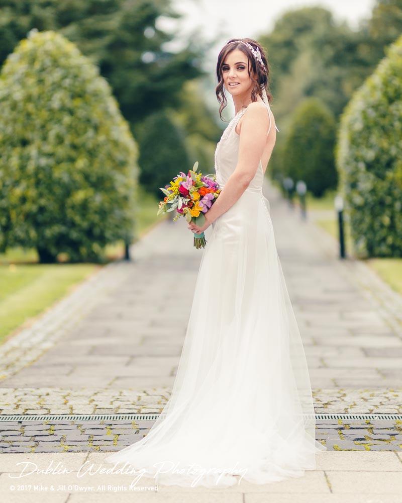 Moyvalley, Balyna House, Wedding Photographer, Kildare, Dublin, Beautiful Bride at Balyna