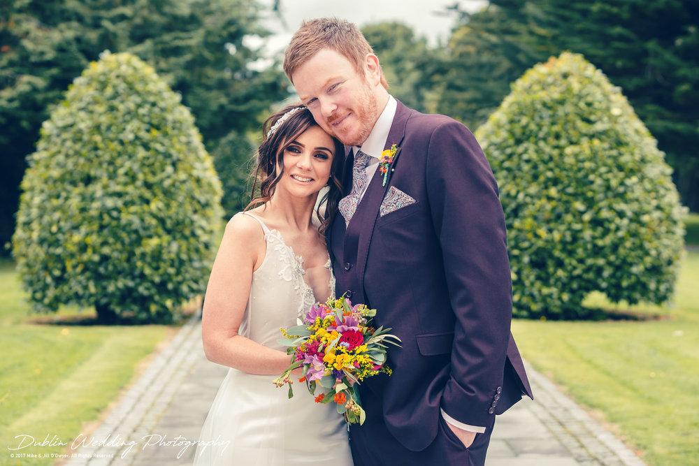 Moyvalley, Balyna House, Wedding Photographer, Kildare, Dublin, Beautiful Bride & Handsome Groom
