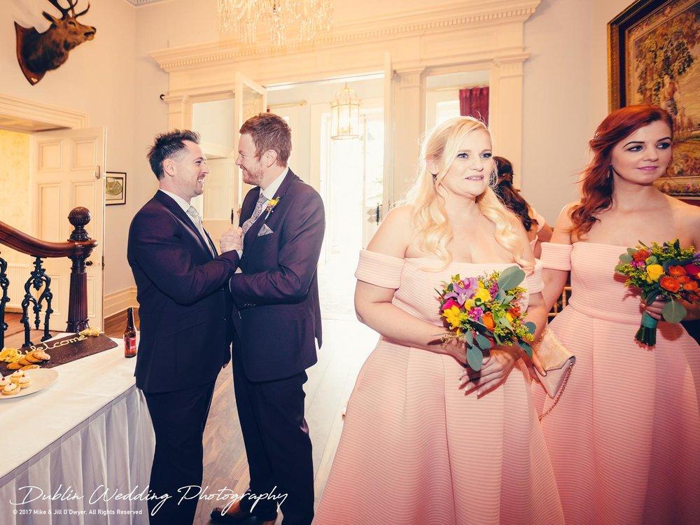 Moyvalley, Balyna House, Wedding Photographer, Kildare, Dublin, Reception Hall Balyna
