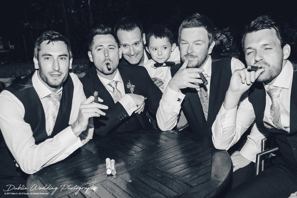 Moyvalley, Balyna House, Wedding Photographer, Kildare, Dublin, The Gang's All Here