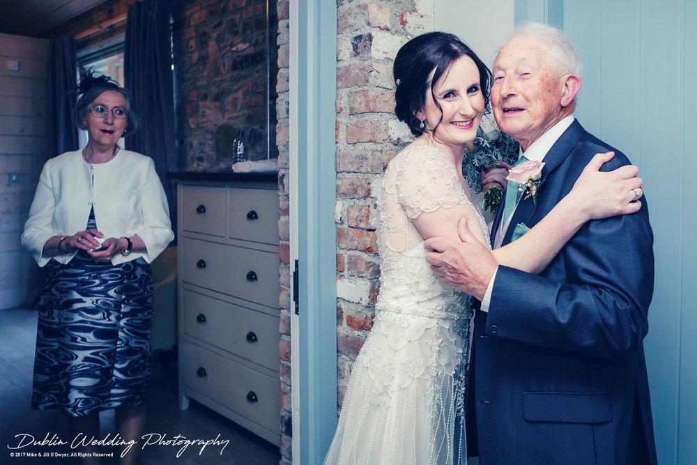 Bellingham Castle, Wedding Photographer, Louth, Dublin, Bride & Parents