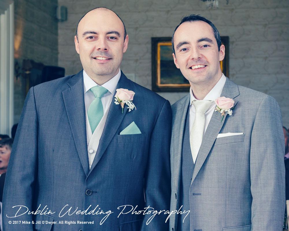 Bellingham Castle, Wedding Photographer, Louth, Dublin, Groom & Best man