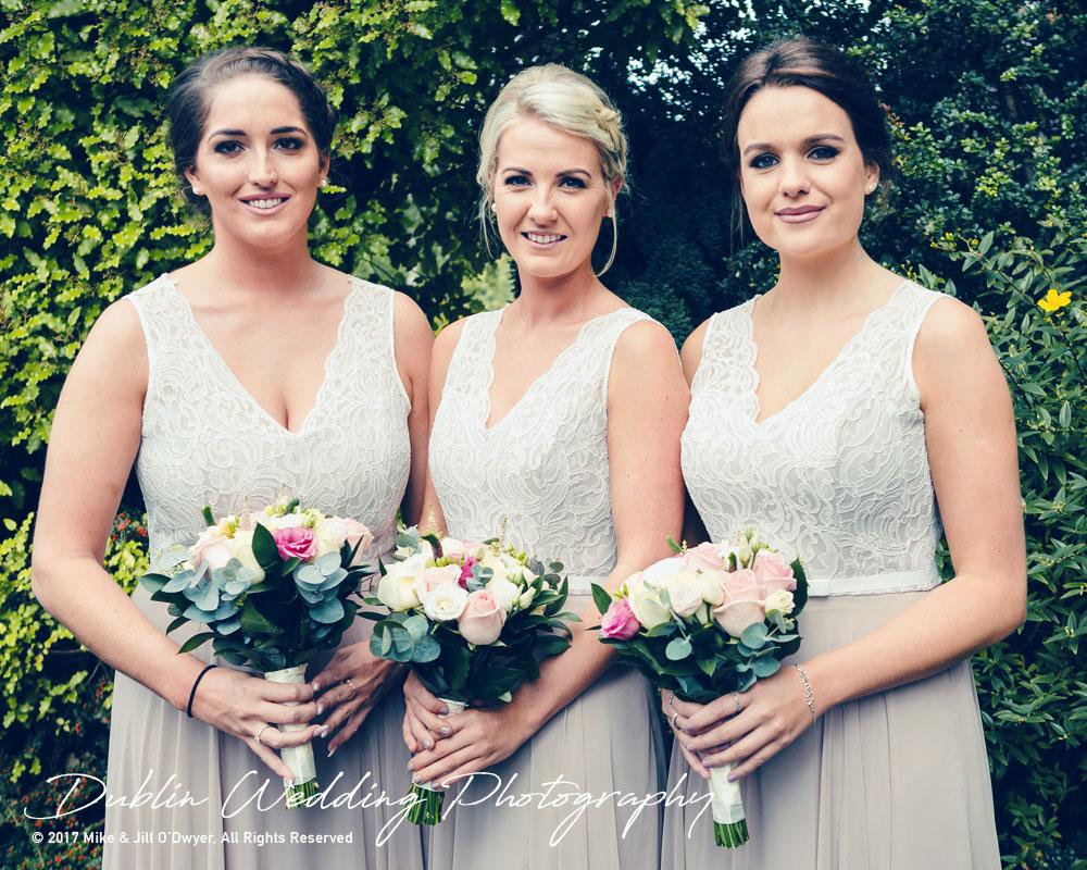 K Club, Kildare, Wedding Photographer, Dublin, all the bridesmaids