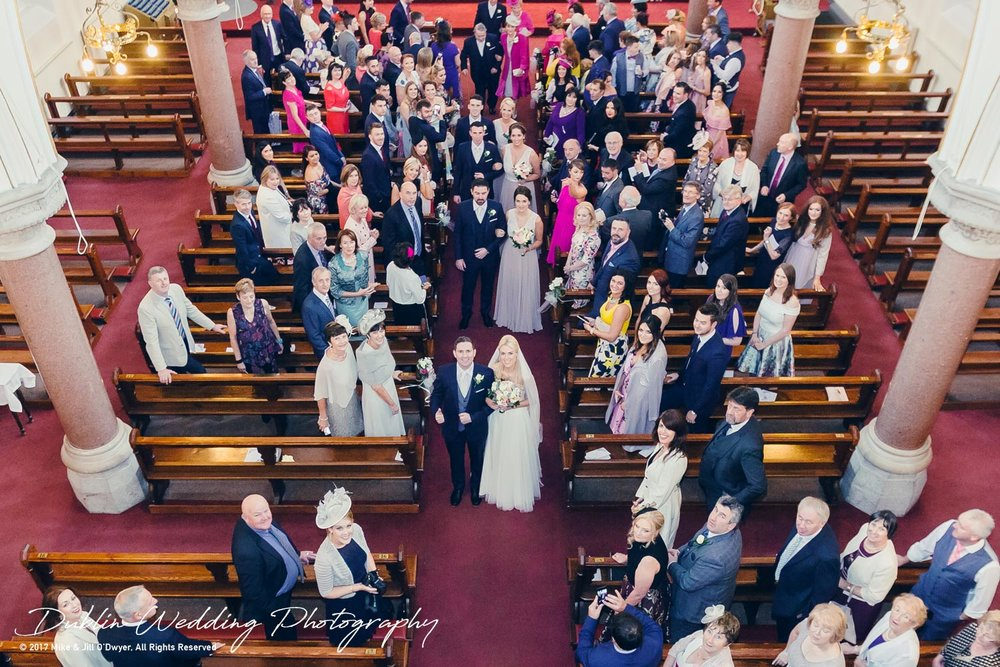 K Club, Kildare, Wedding Photographer, Dublin, Bride and Groom and Group shot in the church