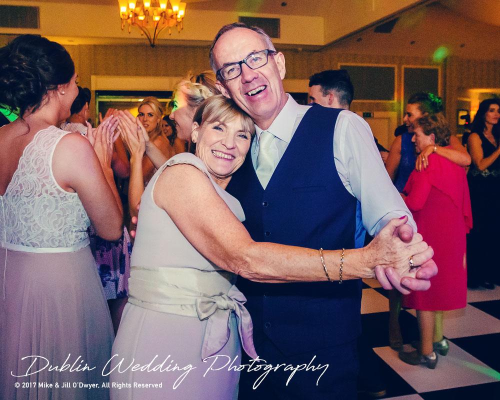 K Club, Kildare, Wedding Photographer, Dublin, Bride's parents enjoying the dances