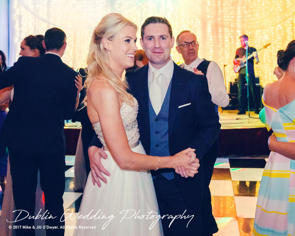 K Club, Kildare, Wedding Photographer, Dublin, Bride and Groom enjoying their party