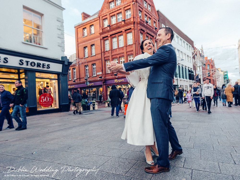Dublin Wedding Photographer City Streets 037