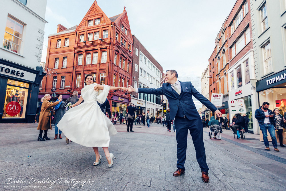 Dublin Wedding Photographer City Streets 038