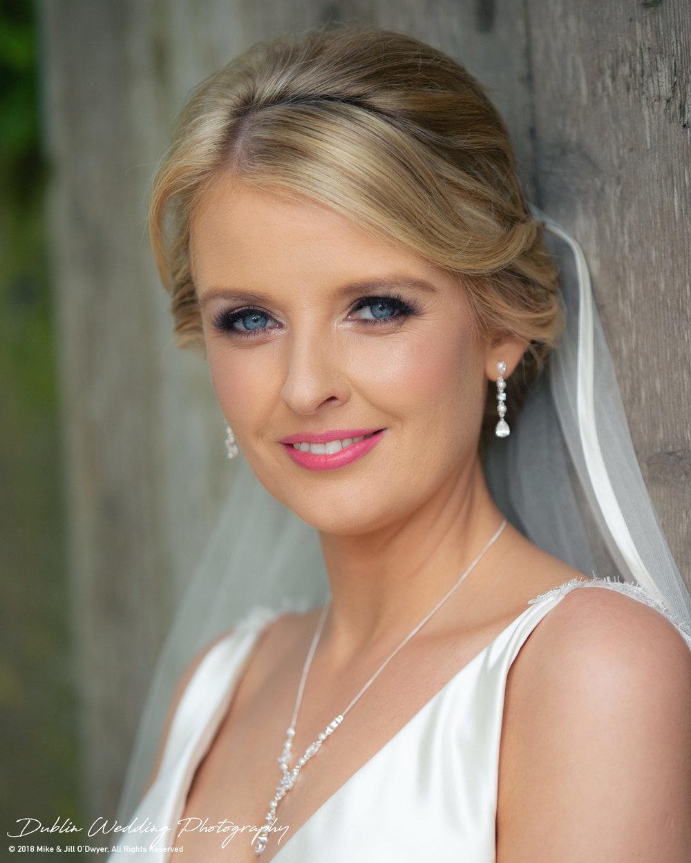 Wedding Bride Straight from Camera