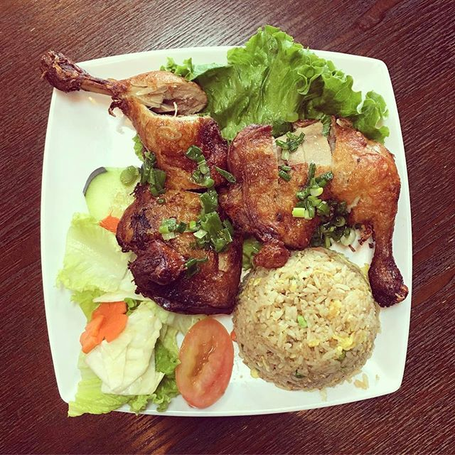 Crispy chicken leg quarters? Mmm ❤️