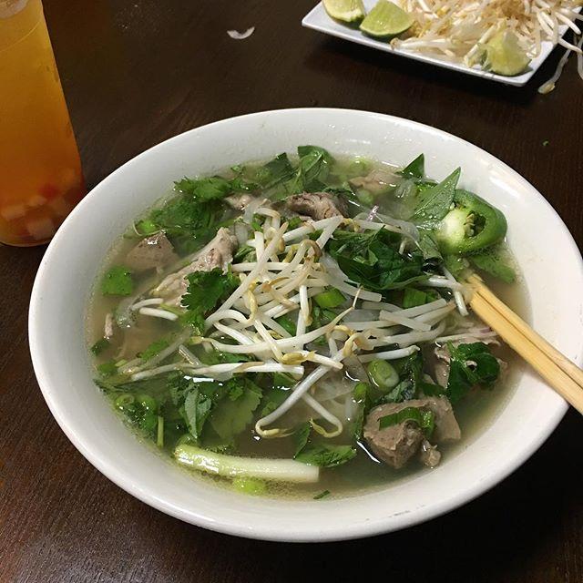 It's not #cold #weather it's #pho weather!  #hangoutasiangrill #houston #katytx #vietnamese #restaurant #soup #noodles