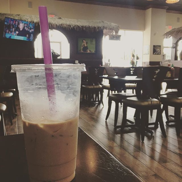 I drank many milk tea far and wide across the vast 🌊 and around the 🌎. Our #milktea with #tapioca is delicious.  #hangoutasiangrill #cypresstx #katytx #houston #food #houstonfood