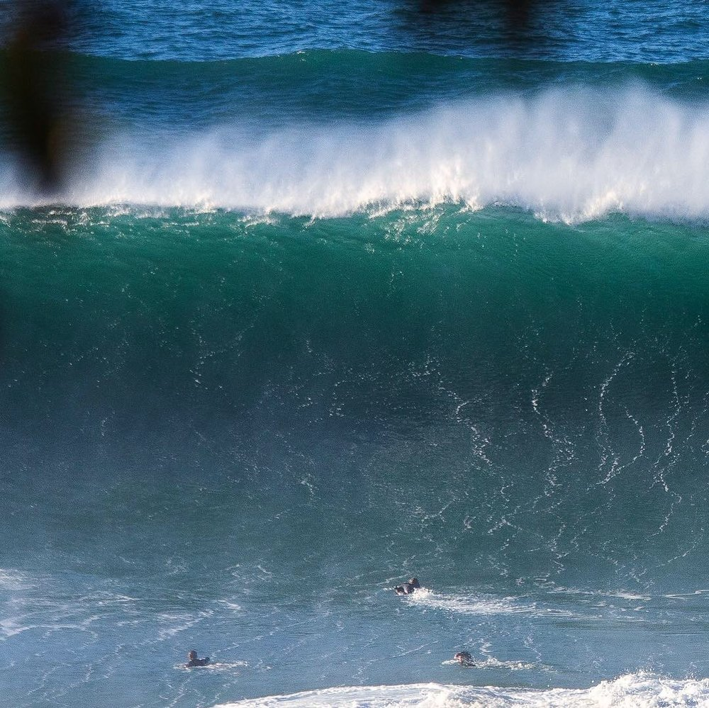 Zane and Jack caught in the inside bodysurfing at Little Avalon by Guy Williment @_gfunk