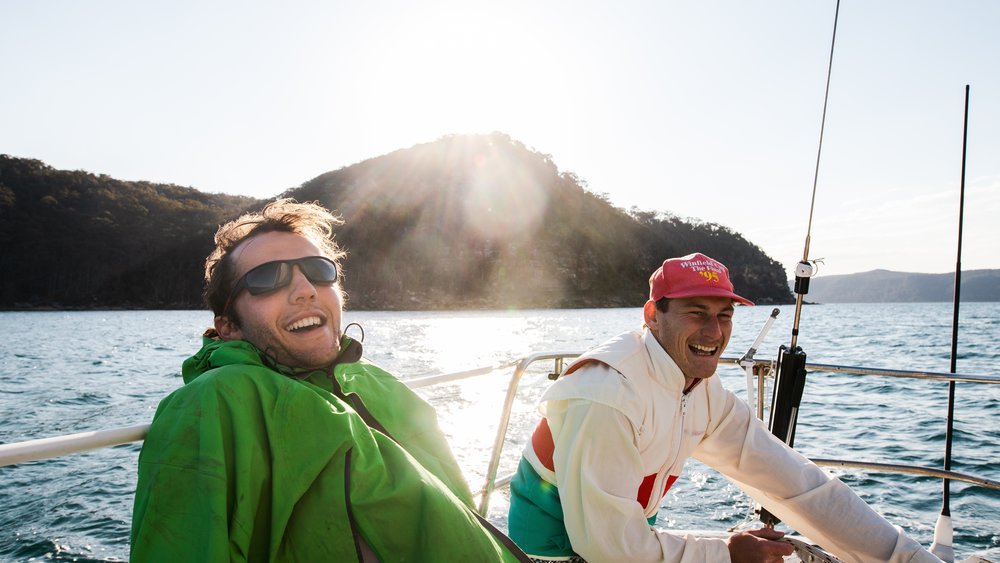 Sailing in Pittwater on Saphire One by Guy Williment @gfunk