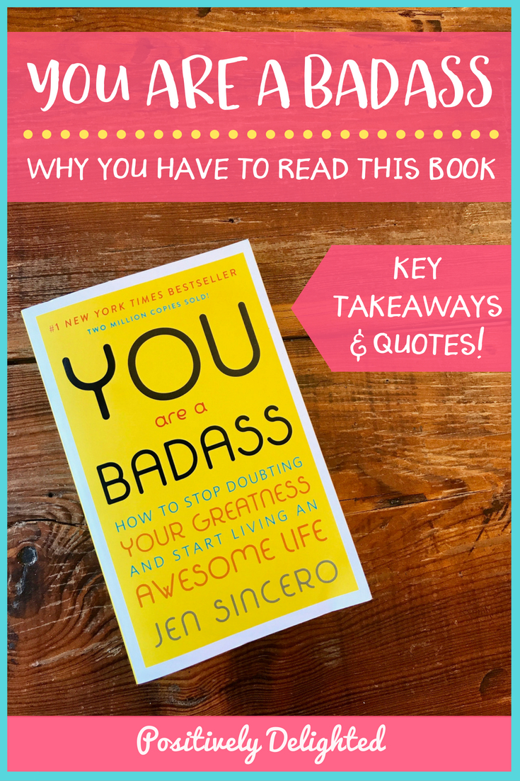 "I have purchased You Are A Badass at least 10 times. Every time I give it to a friend, I'm practically welling up with tears of self-reflection saying ""This book will... Change. Your. Life. Someday soon you will wake up in giddy disbelief that you get to be you!"" That's just how much I love this book. If you aren't already convinced to go buy You Are A Badass immediately, I have chosen 10 of my favorite quotes and the lessons I learned from them."