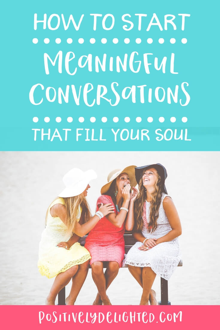 You know those conversations that just fill your soul?  Maybe you're talking to your best friend or it could even be a moment in time that you share with a stranger that ends up having a huge impact on your life.  These are the conversations we are going to talk about in today's episode. I'm interviewing Lindsey Nubern from Nuventure Travels, an author who has an amazing book to share with us that will help start more meaningful conversations and create more connection with the people around us.
