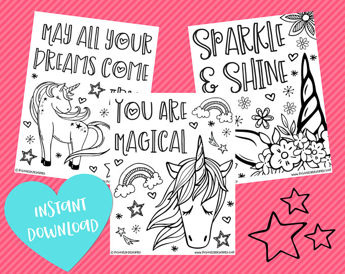 Unicorn affirmation coloring pages.jpg
