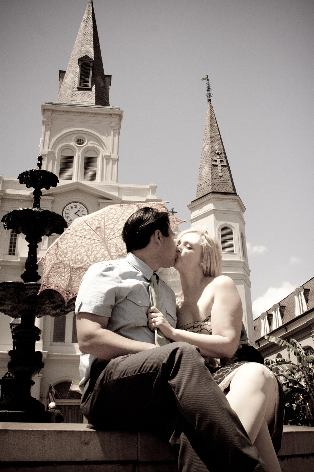 Kissing by the fountain.jpg