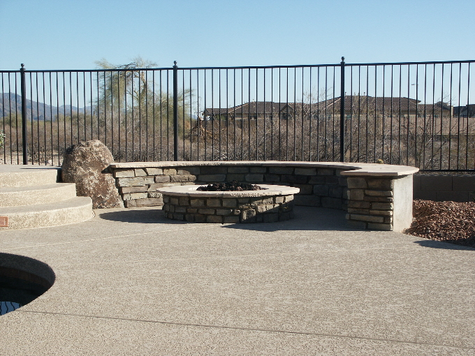 Morse Seated  Bench and Culture stoned fire pit.JPG