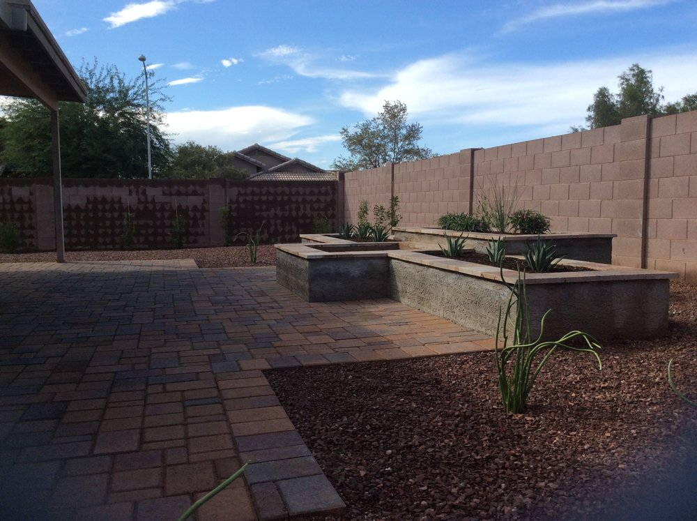 Raised Planter Fire pit and Paver Patio.jpg