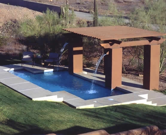 Raised columnwood perola and water feature.JPG