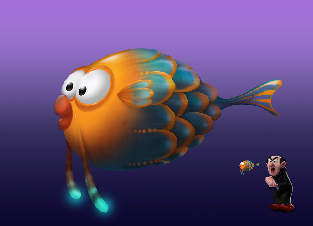 Enchanted Fish: Design by Patrick Mate