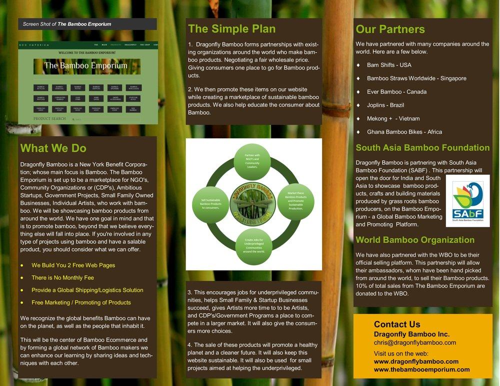 Tri-Fold Design - Inside