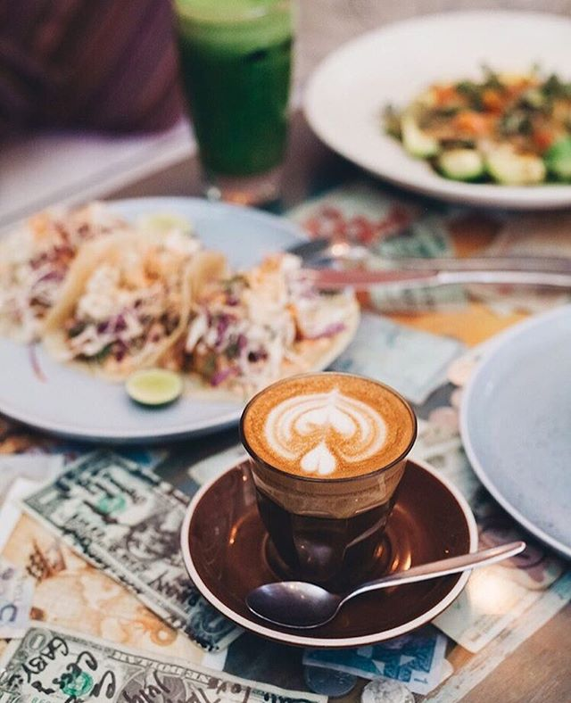 Start your week off right - you know where to find us! ☕️🌮👌🏼❤️ #revolverespresso // 📸 @sasha_navetnaya