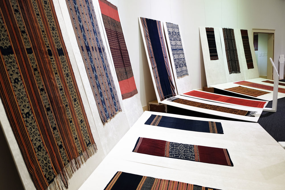 Fibres of Life: Ikat Textiles of the Indonesian Archipelago ,   exhibited at University Museum and Art Gallery